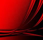 Fundo abstrato vermelho Fotos de Stock