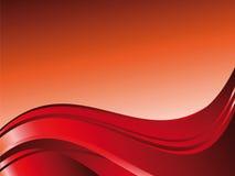 Fundo abstrato vermelho ilustração stock