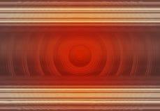 Fundo abstrato vermelho com linhas e círculos foto de stock