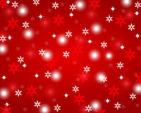 Fundo abstrato vermelho do Natal Fotos de Stock