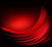 Fundo abstrato vermelho elegante do negócio Fotos de Stock