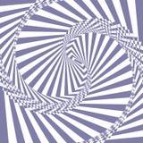 Fundo abstrato violeta e branco do vetor da ilusão Imagens de Stock