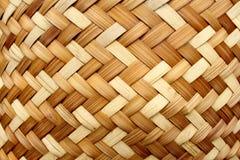 Fundo acessível do bambu do ofício Imagens de Stock Royalty Free