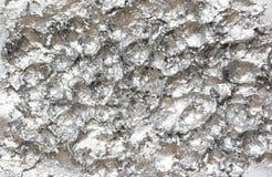 Fundo acrílico abstrato de prata com espaço vazio Fotografia de Stock Royalty Free