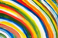 Fundo acrílico da textura do sumário da pintura Fotografia de Stock