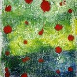 Fundo acrílico pintado à mão das artes Imagens de Stock Royalty Free