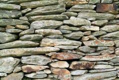 Fundo adiantado da parede de pedra Fotos de Stock