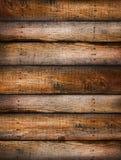 Fundo afligido da grão da madeira de pinho Foto de Stock