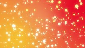 Fundo alaranjado amarelo do inclinação com sparkles
