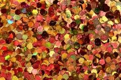 Fundo alaranjado, amarelo, vermelho, cor-de-rosa do brilho Imagem de Stock