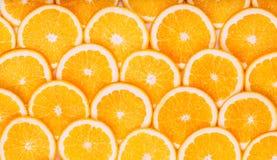 Fundo alaranjado da fruta Laranjas do verão Saudável Fotografia de Stock