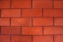 Fundo alaranjado da parede de tijolo Imagens de Stock Royalty Free