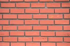 Fundo alaranjado da textura da parede de tijolo foto de stock