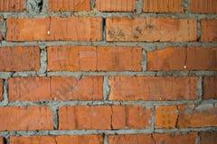 Fundo alaranjado da textura da parede de tijolo imagem de stock