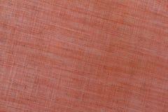 Fundo alaranjado de matéria têxtil da lona Foto de Stock Royalty Free