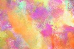 Fundo alaranjado e cor-de-rosa Fotos de Stock