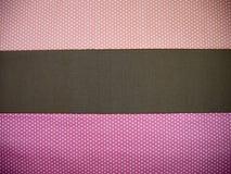Fundo alaranjado, marrom e cor-de-rosa do às bolinhas Fotos de Stock Royalty Free