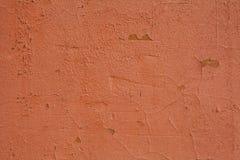 Fundo alaranjado velho da parede das texturas Fundo perfeito com espa?o imagem de stock