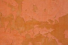 Fundo alaranjado velho da parede das texturas Fundo perfeito com espa?o imagem de stock royalty free