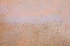 Fundo alaranjado velho da parede das texturas Fundo perfeito com espa?o imagens de stock