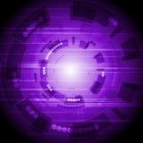 Fundo alta tecnologia Imagens de Stock Royalty Free