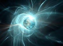 Fundo alta tecnologia abstrato azul Foto de Stock