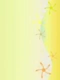 Fundo amarelo ilustração stock