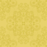 Fundo amarelo Fotografia de Stock