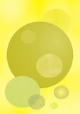 Fundo amarelo Imagens de Stock Royalty Free