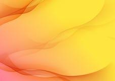 Fundo amarelo abstrato Fotos de Stock