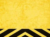 Fundo amarelo abstrato Imagem de Stock