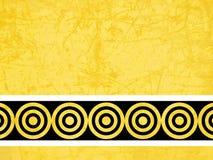 Fundo amarelo abstrato Fotografia de Stock