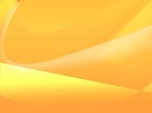 Fundo amarelo abstrato Imagens de Stock