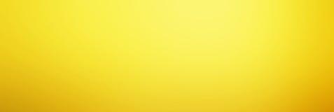 Fundo amarelo abstrato com inclinação, textura do borrão com bobina Foto de Stock Royalty Free