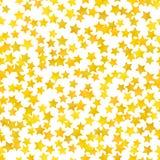 Fundo amarelo abstrato da estrela Ilustração do vetor ilustração royalty free