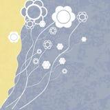 fundo Amarelo-azul Ilustração Stock