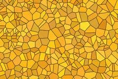 Fundo amarelo da parede de pedra ilustração do vetor