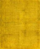 Fundo amarelo de pano Fotos de Stock Royalty Free
