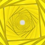 Fundo amarelo do fundo 3d Fotos de Stock Royalty Free