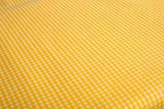 Fundo amarelo do guingão Imagens de Stock
