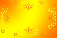 Fundo amarelo do inclinação Foto de Stock