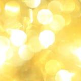 Fundo amarelo do Natal Imagens de Stock