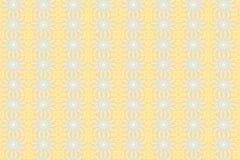 Fundo amarelo do teste padrão ilustração do vetor
