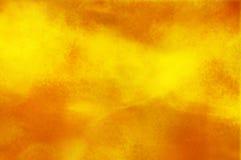 Fundo amarelo e alaranjado abstrato Fotografia de Stock