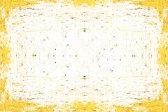Fundo amarelo pintado sumário Fotografia de Stock
