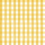 Fundo amarelo quadrado sem emenda ilustração do vetor