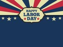 Fundo americano do Dia do Trabalhador Fotos de Stock Royalty Free