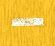 Fundo amigável do bambu de Eco da natureza orgânica Bio textura do vetor Fotografia de Stock Royalty Free