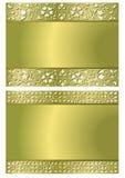 Fundo antigo da estrutura do ouro Imagem de Stock