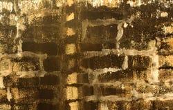 Fundo antigo da textura da parede do forte do bloco da pedra do granito Fotos de Stock Royalty Free
